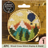 Wood Cross Stitch Display Easel